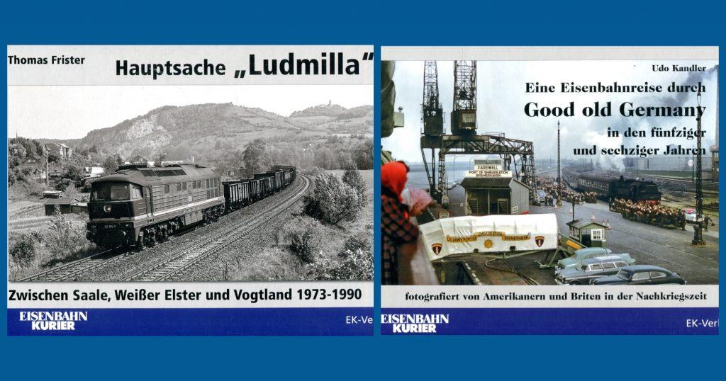 Ludmilla und old germany aus dem Eisenbahn Kurier Verlag